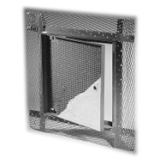 Access Door - AP-5010 12x12 Recessed for Acoustical Plaster,  Primer Coated Steel