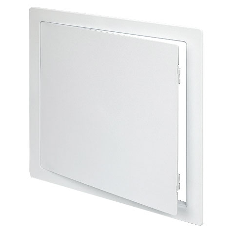 24x24 hinged, white Styrene Plastic Access Panel