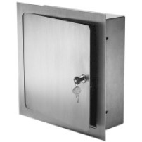 Recessed Valve Box - ARVB  8 x 8 x 4 Stainless Steel