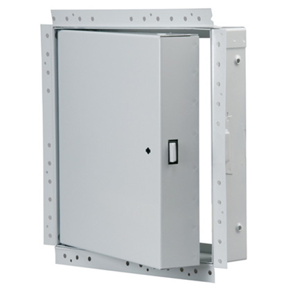 B-UW Series - Non-Insulated, Fire Rated Access Doors for walls only, w. drywall bead flange