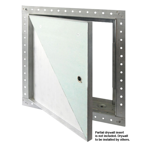 "Access Door - DW-5015 12x12, 5/8"" Recessed for Drywall with Drywall Bead Flange,  Primer Coated Steel"