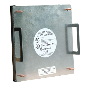 Flame Gard Grease Duct Access Door   7x7