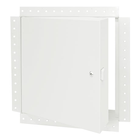 FW-5050-DW Prime Coat - Insulated, Fire Rated Access Doors for ceilings and walls, w. drywall bead flange