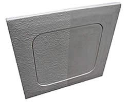Ceiling GRFG Access Panel - AD1212RD 12x12, Glass Fiber Reinforced Gypsum, Round Corner Design