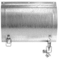 Rounded Duct Access Door - RD-5090  9x8 Gastketed - for 8 inch Diameter Round Ducts