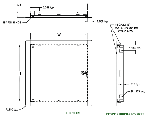 ED-2002 Measurements Diagram