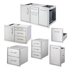 Stainless Steel Cabinet Assemblies