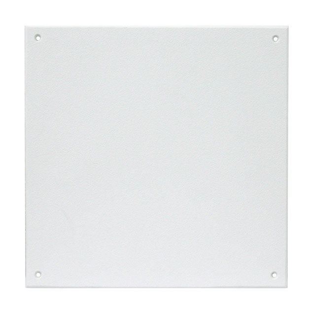 Flat Panel Cover-Up - Custom Sizes - white Plastic HIS, textured, non-insulated