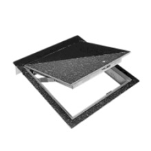 FT 8040 1/8u0026quot; Recessed Floor Access Door, Aluminum