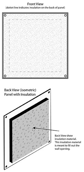 Cover-Up w. Insulation - Illustration